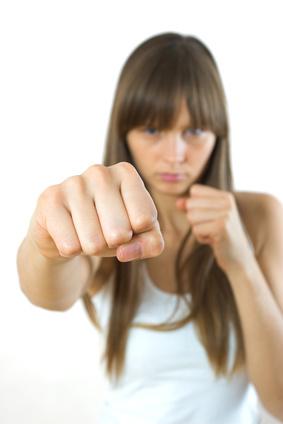 Angry divorcee