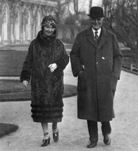 Margaret Sanger and second husband J. Noah H. Slee in 1927. The couple lived apart.